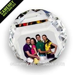 High quality crystal diamond business card holder
