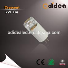 Odidea Elegant Humanized Design g4 led light bulb 2w 170lm CE RoHs