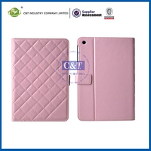 2014 New Trendy pu leather stand case for ipad mini belt case