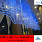 Side Glow Plastic Optical Fiber Lighting Fixture