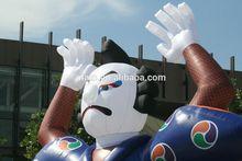 Giant inflatable kimono man, inflatable samurai model with