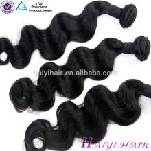 Raw braiding blonde peruvian hair weft