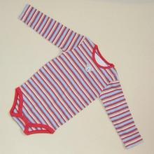 R&H 2014 comfortable cute Custom Stripe Printed baby creeper