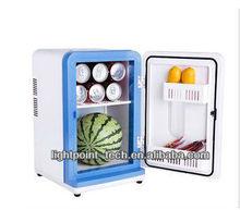 fashion portable mini fridge 12L double car portable fridge in stock