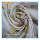 Hangzhou flower printed 100% silk 2014 jewelry lady scarf