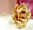 Lover rose gift 24K gold foil plated