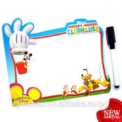 Custom erasable message color printing fridge magnet paper whiteboard