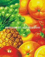40*50cm Beautiful Canvas Fruit Oil Paintings