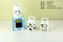 KC-323 new design hot-sale 3d mug ceramic mug animal mug with customized printing