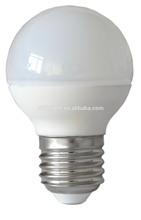Made in china G45 ceramic e14 E27 B22 led bulb lighting with CE&RoHs