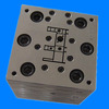 Alibaba China PVC plastic profile panel extrusion mould parts