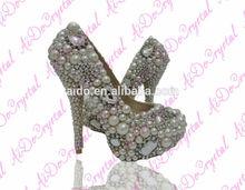 12cm High Heel Shoe Italian Design Wedding Bridal Women Shoes