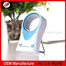 2014 best selling products ! mini portable bladeless battery operated mini fan with CE ROHS certification