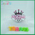 Decoración de la torta de cumpleaños de la princesa tiaras/diademas para los niños