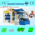 معدات البناء للطوب qty10-15 وكتلة صنع الطوب صنع آلة
