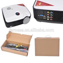 2500 lumens 800*600 Video Projector 4:3/16:9 Multimedia Projector