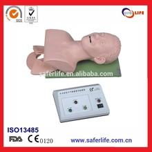2014 integral de emergencia de las habilidades trainning electrónico de primeros auxilios inflable maniquí de entrenamiento