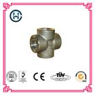 Carbon steel pipe cross fittings, socket weld cross