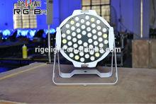 IP66 RGBW 3W Flat Led Par Can Light