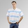 2014 hot sale fashion color combination polo shirt for men
