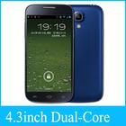 OEM mtk 6572 dual core 4.3 inch mobile phone small size cdma phone