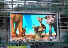 waterproof dip outdoor led displays digital rental led video screen 12mm pixel pitch