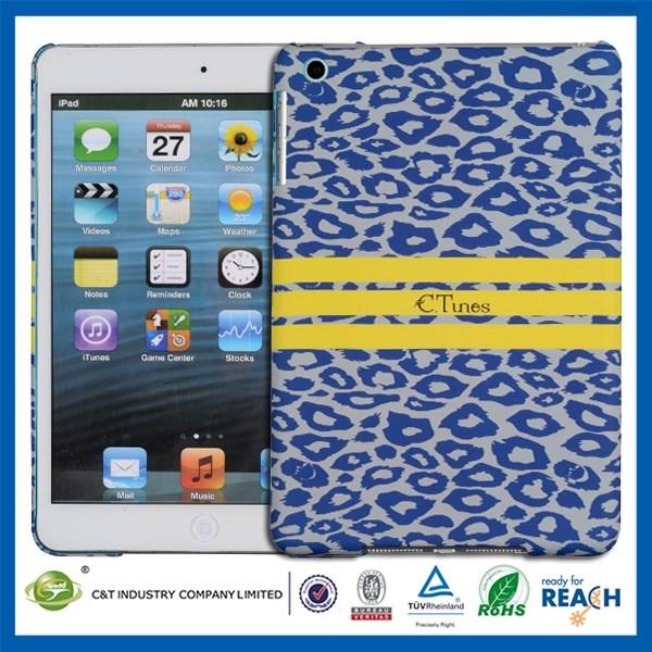 New arrival design&factory price smart cover for ipad mini pc hard case