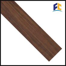 wood grain waterproof vinyl laminated flooring manufacture