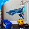New Home Decor PVC Wall Stickers Removable wall decal cartoon home decoration baby room decor frozen wall stickers