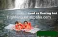 Inflável colchão de água, cama de água flutuante, waterbed
