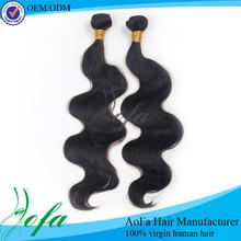 Factory 100% peruvian virgin loose wave virginia remy hair