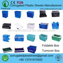 polypropylene pp corrugated plastic wholesale plastic totes