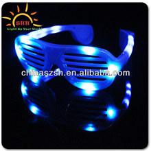 Factory Wholesale LED Shutter Shade,Fashion Glow LED Glasses Supplies