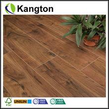 Decoration wax waterproof parquet laminate flooring 12mm