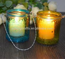 hanging metal tealight candle holder craft gift box