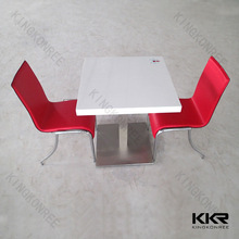 Competitive price artificial stone wholesale restaurant furniture