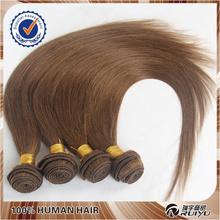 Hot selling color hair 7a grade dark brown brazilian virgin hair