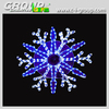 Creative Ideas 2D motif snowflake led snowflake light