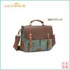 GF-A44 Vintage crazy horse leather bag canvas messenger bag