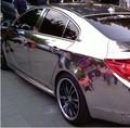 good venta de decoración de piezas de metal etiqueta engomada del coche del espejo cromo de la película reflexiva