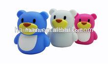 Fashion portable mini carton speaker bear shape!