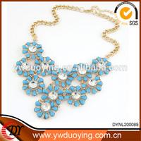 2014 Wholesale Women Accessories China Fashion Jewelry Sunflower Statement Jewelry