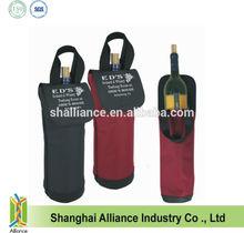 new design 600D polyester wine bottle bag