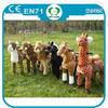 HI EN71 Promotional 2014 toy carousel horse ride,plush ride on horse toys