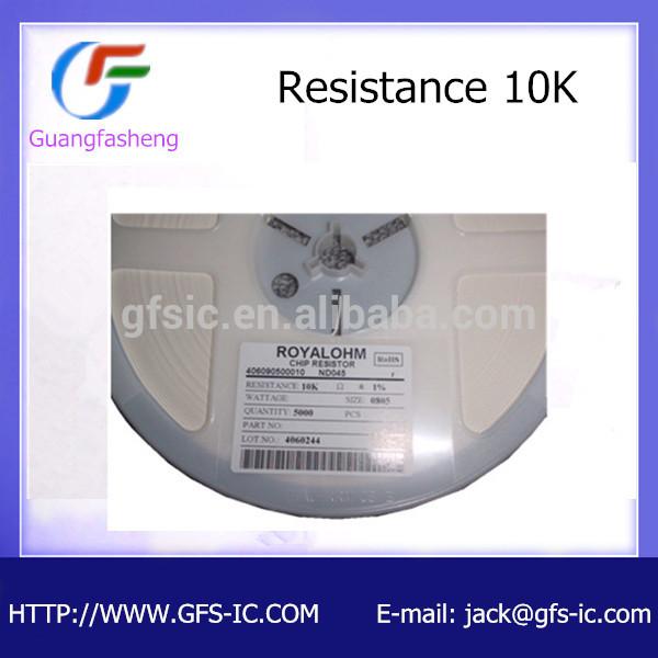 resistor 0805 10K 1%