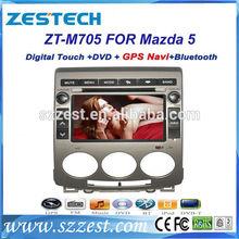 ZESTECH China 2 din radio car digital tv car antenna car gps navigation for Mazda 5 with video input