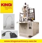 KING'S- Making vga cable, db9 to vga cable, rs232 vga cable Molding Machine