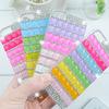 For Apple iPhone 5 5S WholesalesLuxury Rainbow PC Hard Plastic Glitter Rhinestone Case