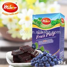 miker fresh blueberry fruit granules