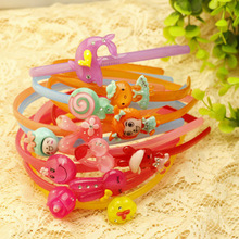 The New 2014, European and American fashion girl animation, children's hair band wholesale